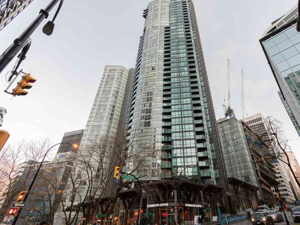 704 1189 MELVILLE STREET - Coal Harbour Apartment/Condo for sale, 1 Bedroom (R2526893) - #1