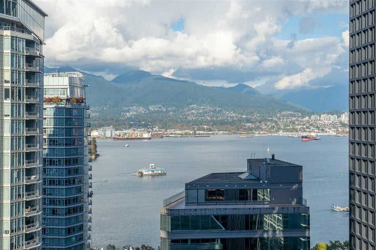 2203 1188 W PENDER STREET - Coal Harbour Apartment/Condo for sale, 1 Bedroom (R2526946)