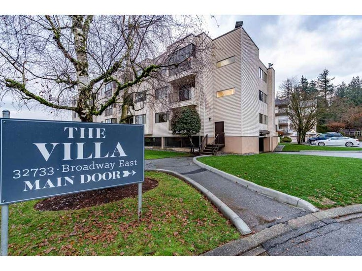 305 32733 BROADWAY EAST STREET - Abbotsford West Apartment/Condo for sale, 1 Bedroom (R2527316)