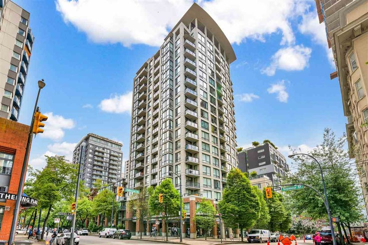 1805 1082 SEYMOUR STREET - Downtown VW Apartment/Condo for sale, 1 Bedroom (R2527348)