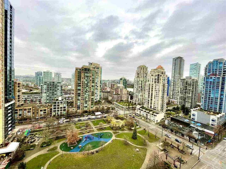 1705 1155 SEYMOUR STREET - Downtown VW Apartment/Condo for sale, 1 Bedroom (R2527397)