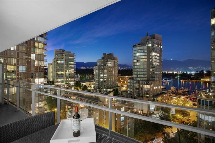 1202 1499 W PENDER STREET - Coal Harbour Apartment/Condo for sale, 2 Bedrooms (R2527425)
