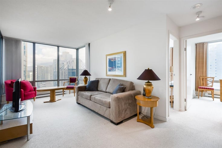 1602 1288 W GEORGIA STREET - West End VW Apartment/Condo for sale, 1 Bedroom (R2527457)