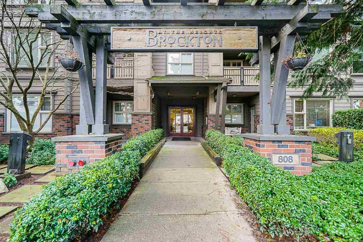312 808 SANGSTER PLACE - The Heights NW Apartment/Condo for sale, 1 Bedroom (R2527465)