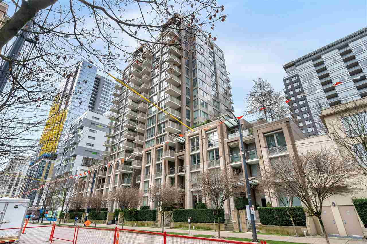 1208 1055 RICHARDS STREET - Downtown VW Apartment/Condo for sale, 1 Bedroom (R2527512) - #1