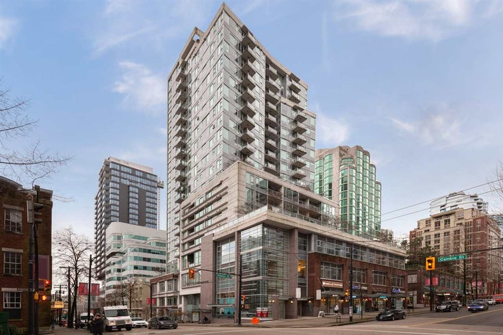 603 821 CAMBIE STREET - Downtown VW Apartment/Condo for sale, 1 Bedroom (R2527535)