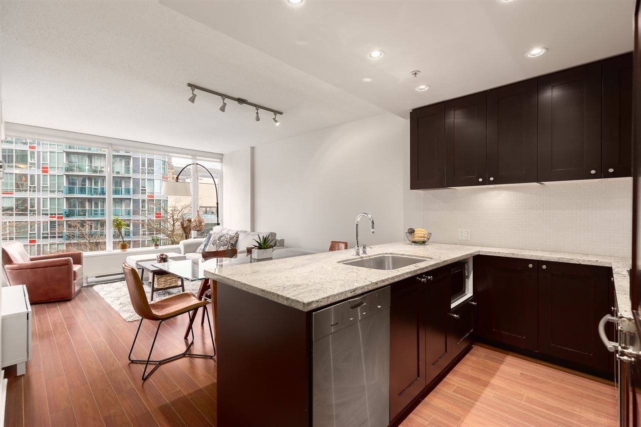 603 821 CAMBIE STREET - Downtown VW Apartment/Condo for sale, 1 Bedroom (R2527535) - #2