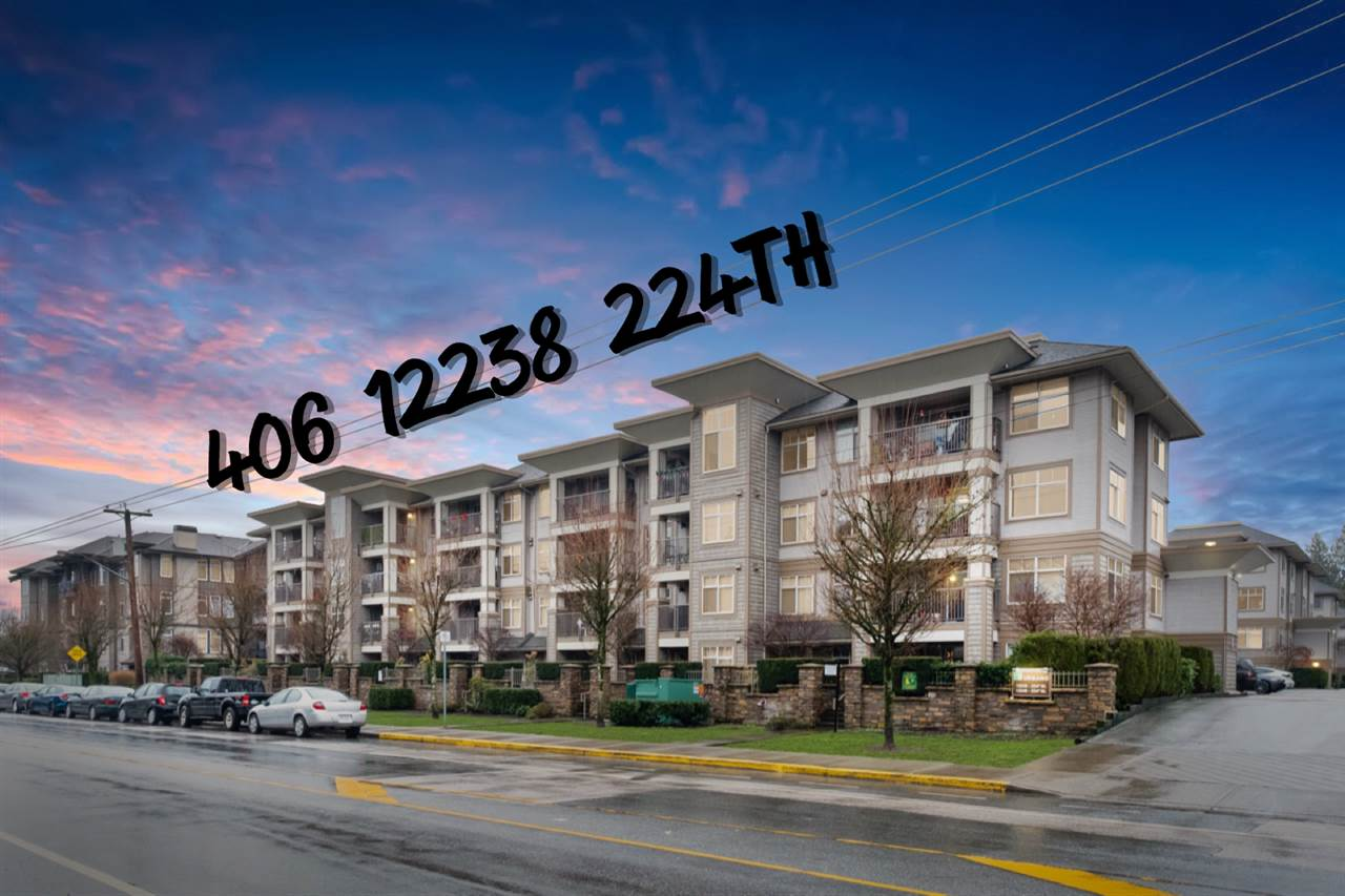 406 12238 224 STREET - East Central Apartment/Condo for sale, 1 Bedroom (R2527620) - #1