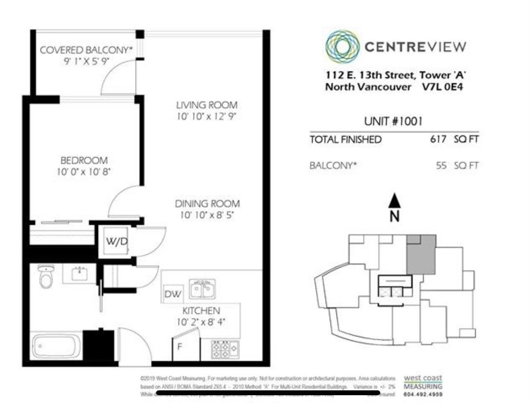 601 112 E 13TH STREET - Central Lonsdale Apartment/Condo for sale, 1 Bedroom (R2527672) - #3