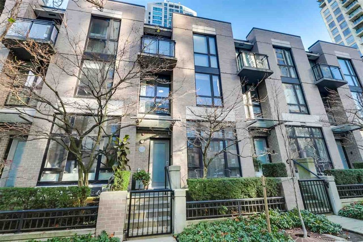 1265 RICHARDS STREET - Downtown VW Townhouse for sale, 2 Bedrooms (R2527798)