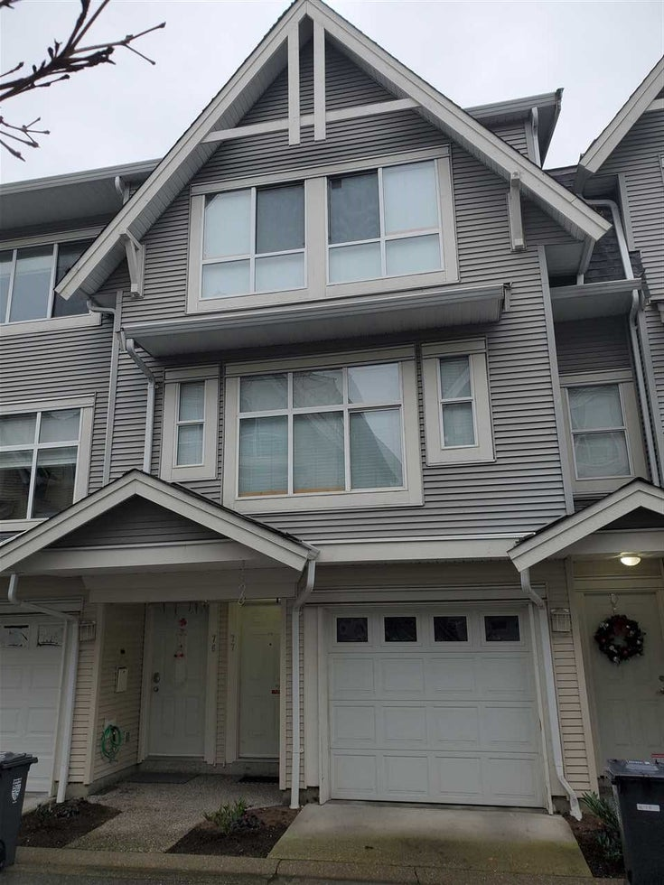 77 6450 199TH STREET - Willoughby Heights Townhouse for sale, 3 Bedrooms (R2527804)