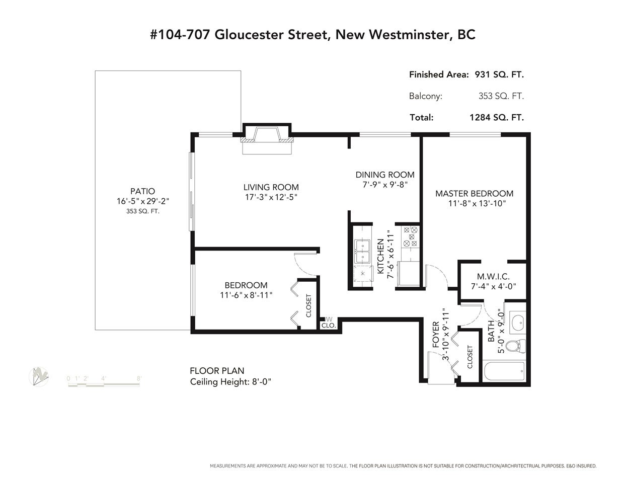 104 707 GLOUCESTER STREET - Uptown NW Apartment/Condo for sale, 2 Bedrooms (R2527840) - #23