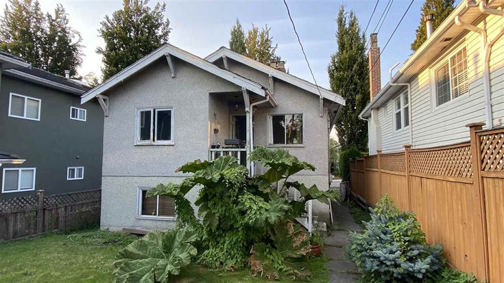 2066 E 1ST AVENUE - Grandview Woodland House/Single Family for sale, 3 Bedrooms (R2527908)