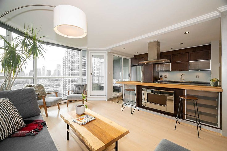 1201 888 HAMILTON STREET - Downtown VW Apartment/Condo for sale, 2 Bedrooms (R2527940)
