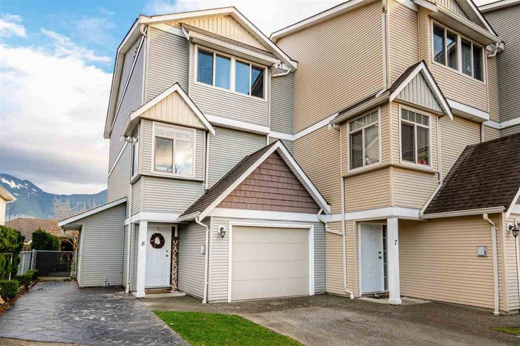 8 1802 HEATH ROAD - Agassiz Townhouse for sale, 3 Bedrooms (R2528145)