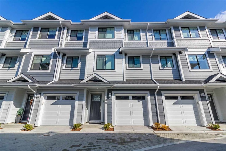 20 189 WOOD STREET - Queensborough Townhouse for sale, 3 Bedrooms (R2528202)