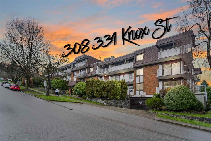 308 331 KNOX STREET - Sapperton Apartment/Condo for sale, 1 Bedroom (R2528275)