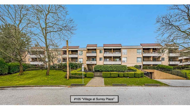 105 10221 133A STREET - Whalley Apartment/Condo for sale, 1 Bedroom (R2528309)