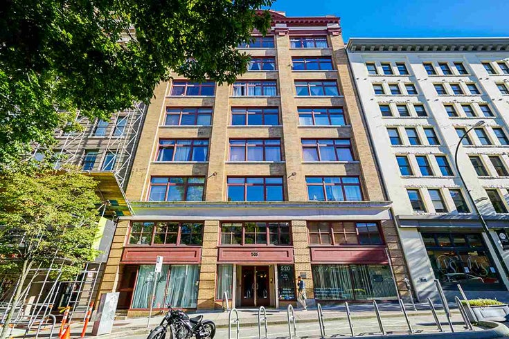 B1 518 BEATTY STREET - Downtown VW Apartment/Condo for sale, 1 Bedroom (R2528416)
