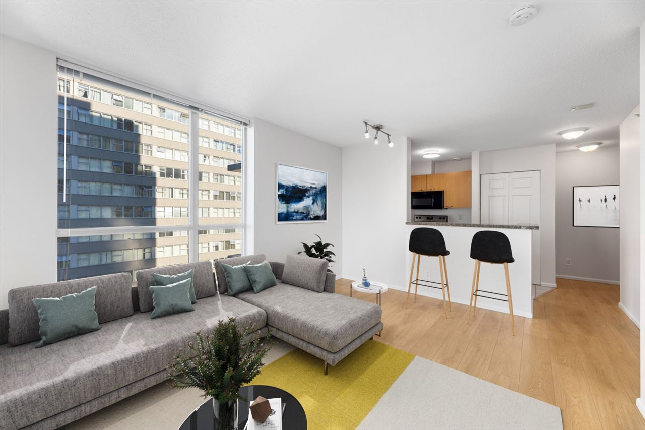 1306 1420 W GEORGIA STREET - West End VW Apartment/Condo for sale, 1 Bedroom (R2528538) - #2