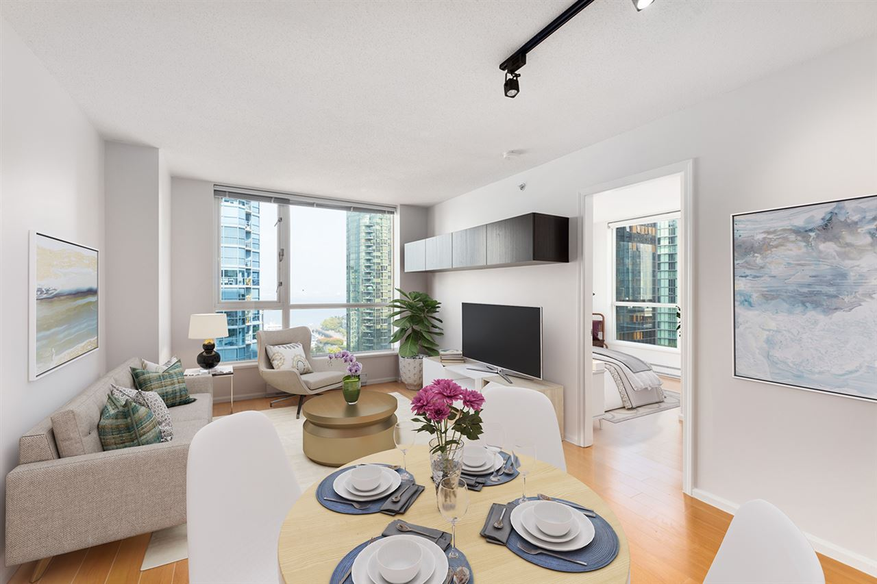 1102 1420 W GEORGIA STREET - West End VW Apartment/Condo for sale, 2 Bedrooms (R2528541) - #2