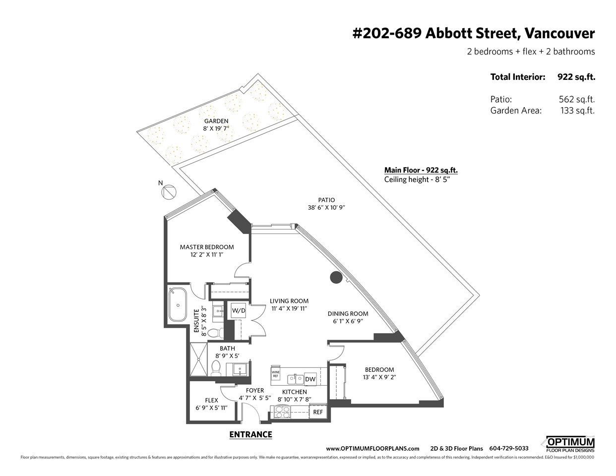 202 689 ABBOTT STREET - Downtown VW Apartment/Condo for sale, 2 Bedrooms (R2528583) - #32