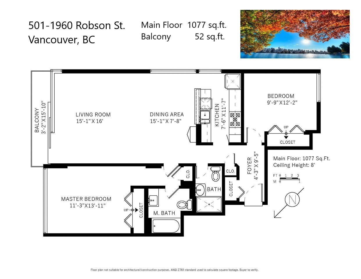501 1960 ROBSON STREET - West End VW Apartment/Condo for sale, 2 Bedrooms (R2528617) - #32