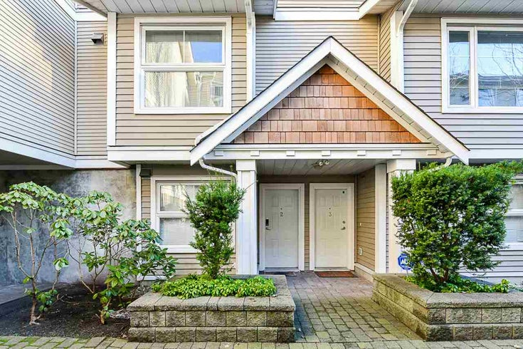 2 168 SIXTH STREET - Uptown NW Townhouse for sale, 4 Bedrooms (R2528978)