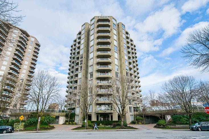604 1135 QUAYSIDE DRIVE - Quay Apartment/Condo for sale, 2 Bedrooms (R2529006)