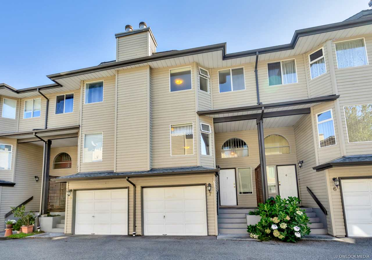7 8751 BENNETT ROAD - Brighouse South Townhouse for sale, 4 Bedrooms (R2529177)