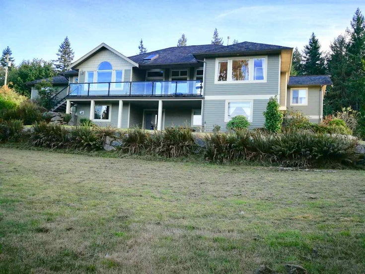 4736 BEAR BAY ROAD - Pender Harbour Egmont House with Acreage for sale, 5 Bedrooms (R2529232)