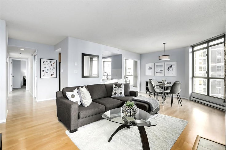 1101 867 HAMILTON STREET - Downtown VW Apartment/Condo for sale, 2 Bedrooms (R2529282)