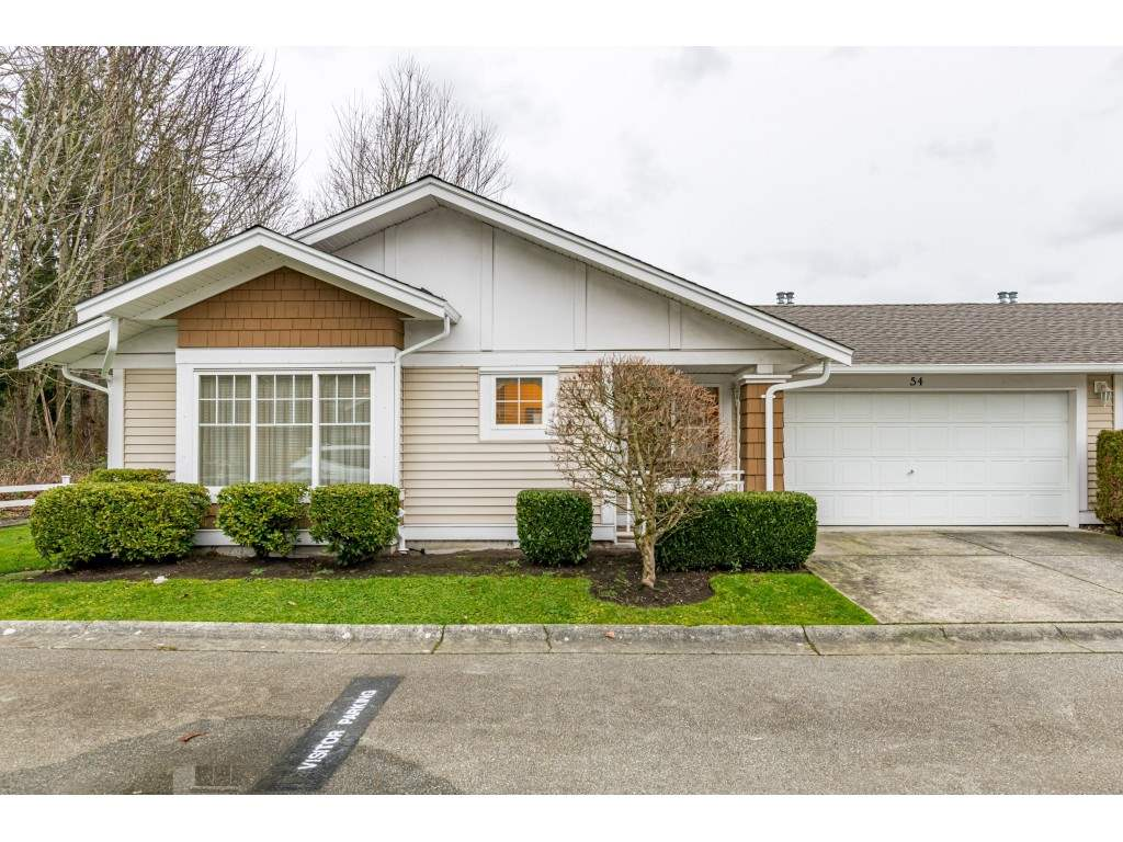 54 6885 184 STREET - Cloverdale BC Townhouse for sale, 2 Bedrooms (R2529324)