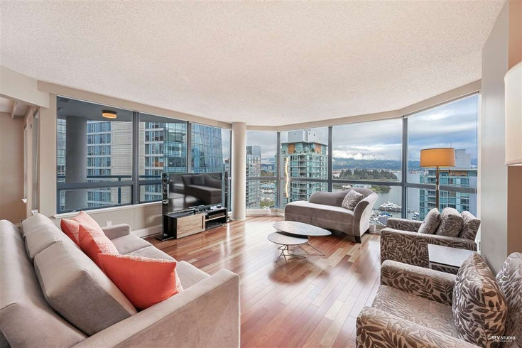 1502 1415 W GEORGIA STREET - Coal Harbour Apartment/Condo for sale, 2 Bedrooms (R2529685)