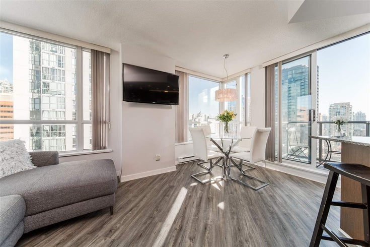1602 1212 HOWE STREET - Downtown VW Apartment/Condo for sale, 1 Bedroom (R2529761)