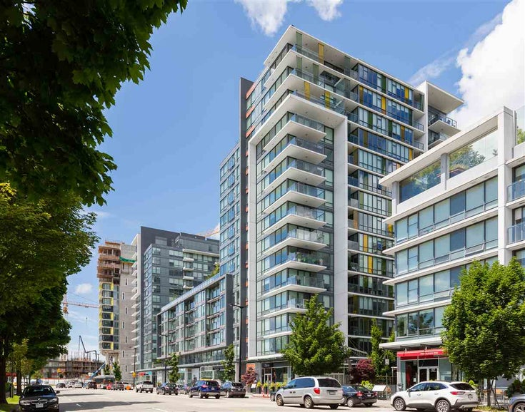1405 159 W 2ND AVENUE - False Creek Apartment/Condo for sale, 1 Bedroom (R2529828)