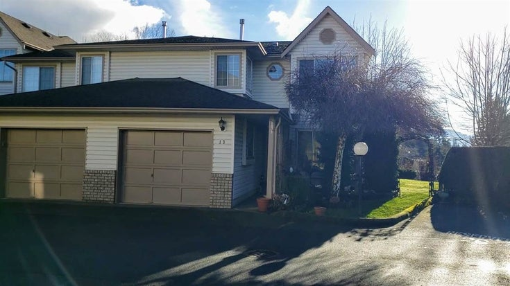 13 2575 MCADAM ROAD - Abbotsford East Townhouse for sale, 3 Bedrooms (R2529962)