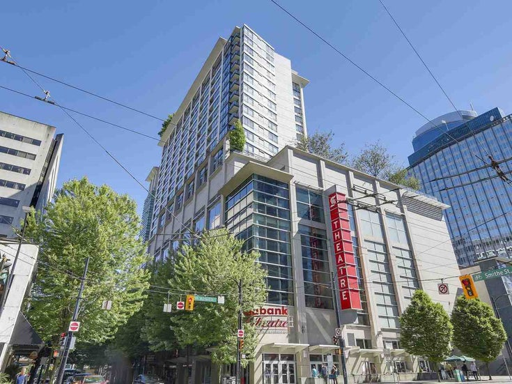 1313 938 SMITHE STREET - Downtown VW Apartment/Condo for sale, 1 Bedroom (R2530288)