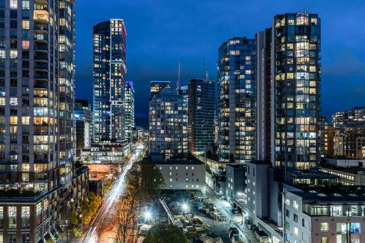 1401 928 RICHARDS STREET - Yaletown Apartment/Condo for sale, 1 Bedroom (R2530424)