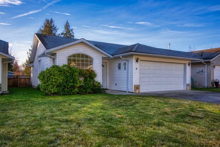 8 535 SHAW ROAD - Gibsons & Area Townhouse for sale, 2 Bedrooms (R2530528)