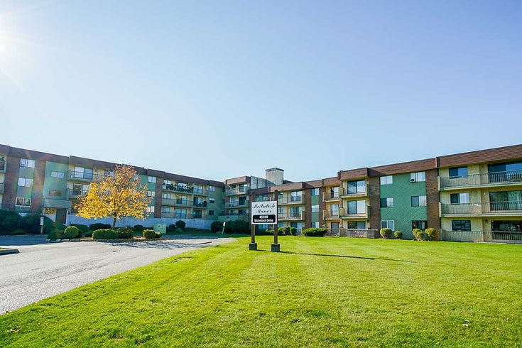 206 45598 MCINTOSH DRIVE - Chilliwack W Young-Well Apartment/Condo for sale, 1 Bedroom (R2530694)