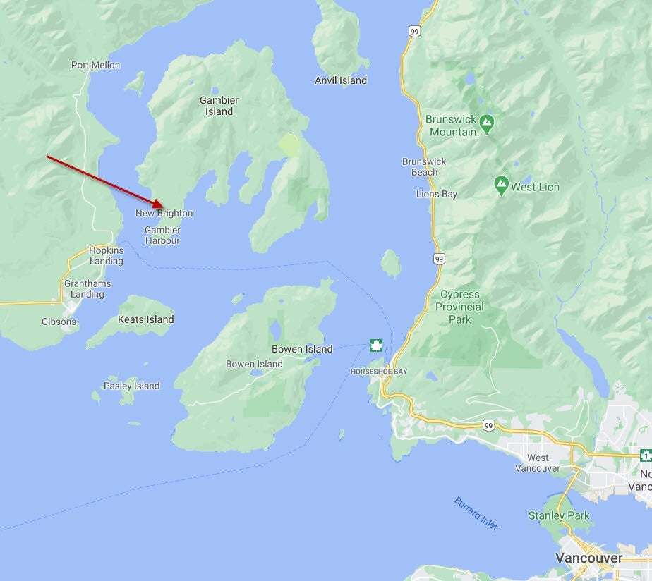 Lot B ANDY'S BAY ROAD - Gambier Island for sale(R2530996)