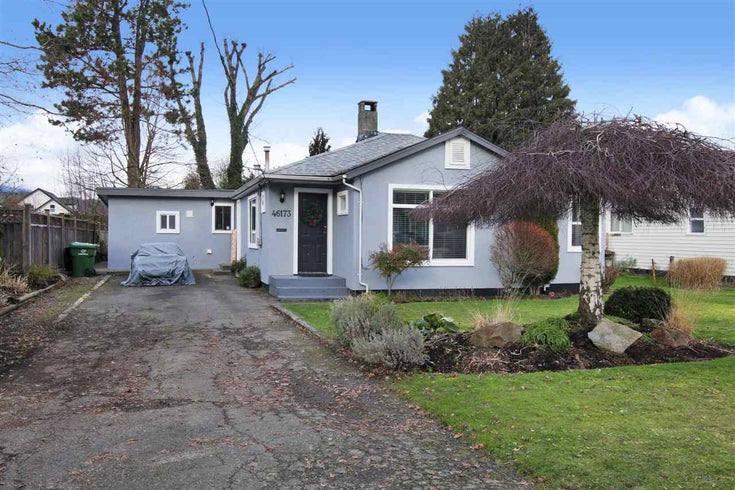 46173 LEWIS AVENUE - Chilliwack N Yale-Well House/Single Family for sale, 3 Bedrooms (R2531091)