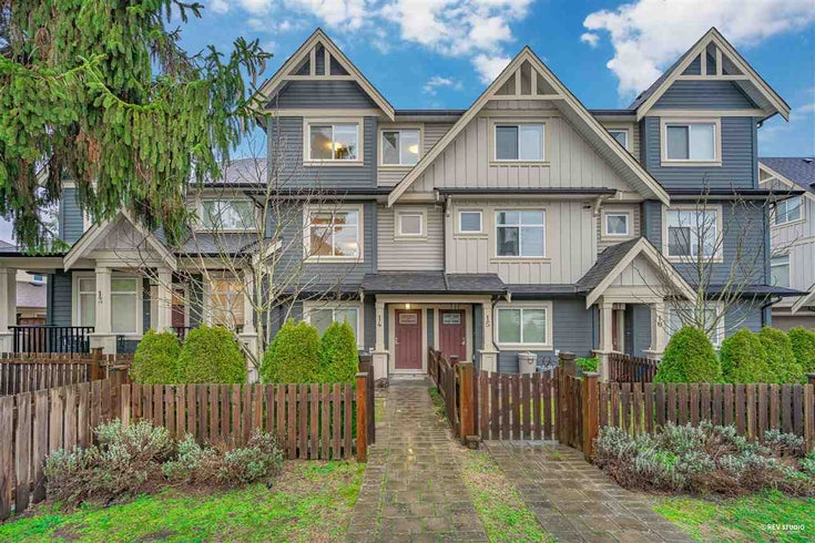 14 6033 WILLIAMS ROAD - Woodwards Townhouse for sale, 3 Bedrooms (R2531172)