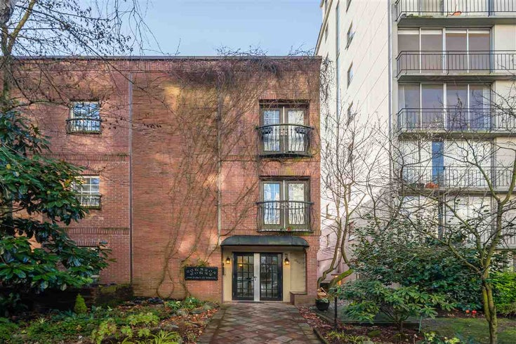 109 1940 BARCLAY STREET - West End VW Apartment/Condo for sale(R2531216)