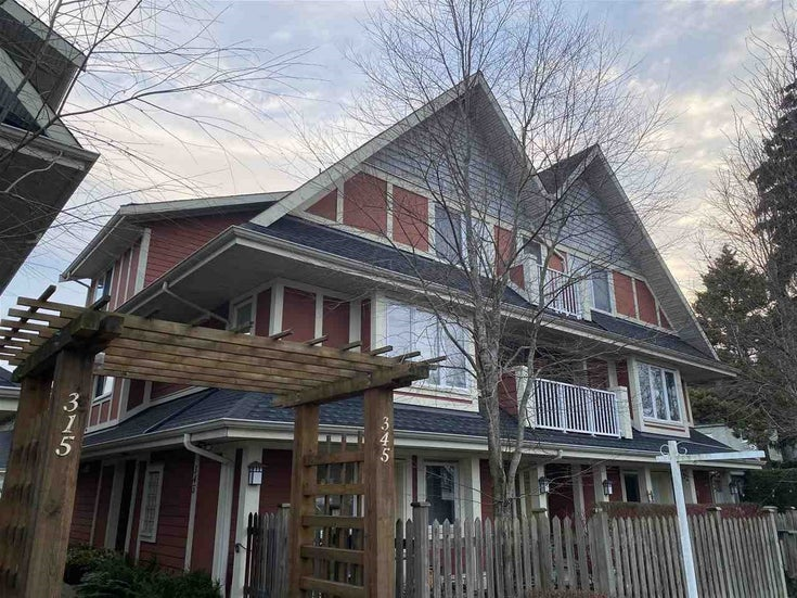 20 345 E 33RD AVENUE - Main Townhouse for sale, 2 Bedrooms (R2531684)