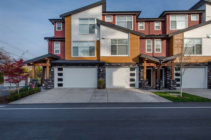 41 46570 MACKEN AVENUE - Chilliwack N Yale-Well Townhouse for sale, 3 Bedrooms (R2531734)
