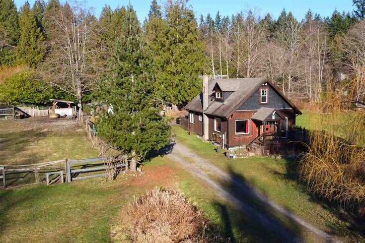 522 BRIDGEMAN ROAD - Gibsons & Area House with Acreage for sale, 3 Bedrooms (R2531772)