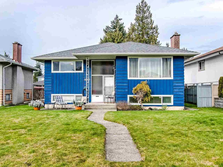 8227 13TH AVENUE - East Burnaby House/Single Family for sale, 4 Bedrooms (R2531848)