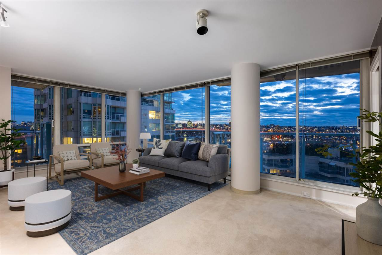 1406 1500 HORNBY STREET - Yaletown Apartment/Condo for sale, 2 Bedrooms (R2531865) - #1